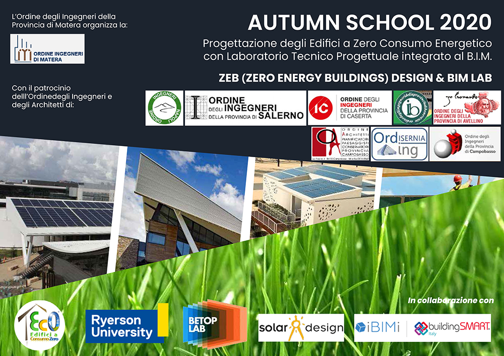 2020 NZero Building Autumn School testata